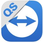The TeamViewer QuickSupport icon on iOS