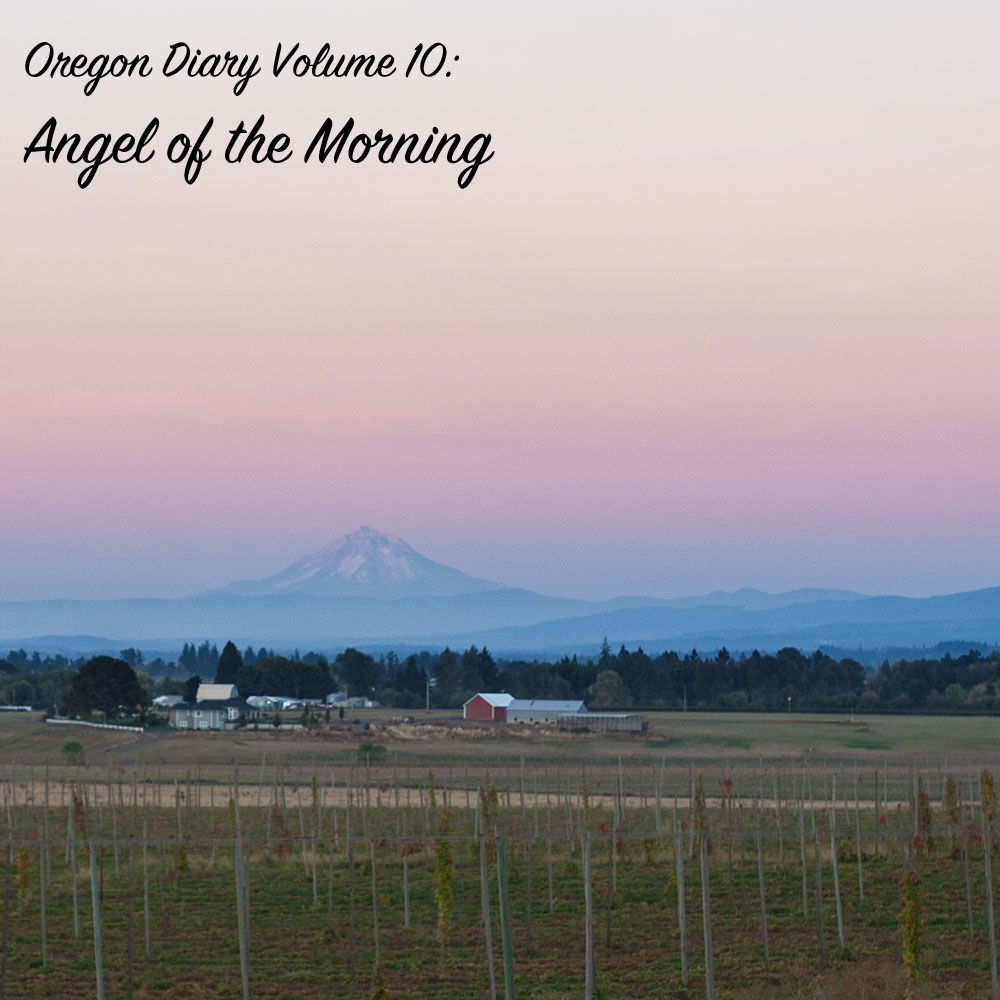 Oregon Diary Volume 10: Angel of the Morning