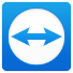 The Blue and White TeamViewer icon